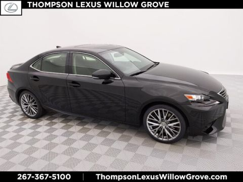 2016 Lexus IS 300 4DR SDN IS 300 AW